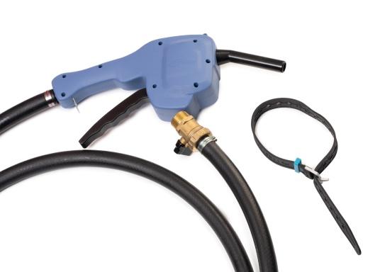 Portabler Kraftstofftank mit Rädern und einer Kapazität von 59 Litern, ideal zum Tanken von Booten, Generatoren und anderen kraftstoffbetriebenen Geräten. (Bild 6 von 6)