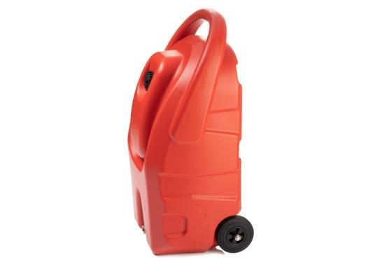 Portabler Kraftstofftank mit Rädern und einer Kapazität von 59 Litern, ideal zum Tanken von Booten, Generatoren und anderen kraftstoffbetriebenen Geräten. (Bild 5 von 6)