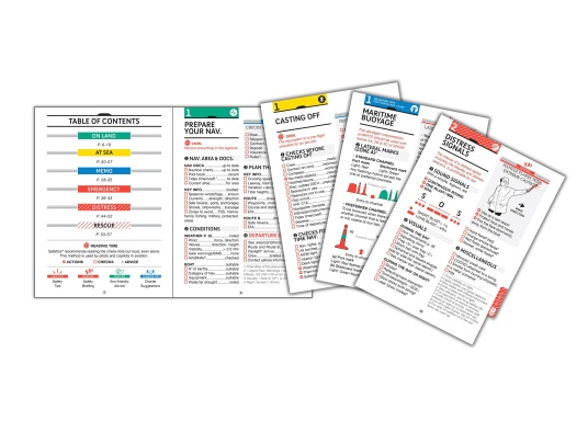 SAFETICS is the first navigation guide in the form of checklists, inspired by aviation. This English version contains most of the navigation rules from safety experts at sea. The universal and practical content has been developed for all skippers and crew members. Their waterproof and hard-wearing design make SAFETICS the ideal companion on board. Language: English (Image 3 of 6)