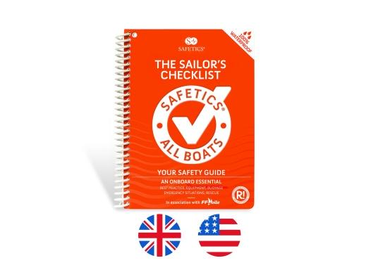 SAFETICS is the first navigation guide in the form of checklists, inspired by aviation. This English version contains most of the navigation rules from safety experts at sea. The universal and practical content has been developed for all skippers and crew members. Their waterproof and hard-wearing design make SAFETICS the ideal companion on board. Language: English