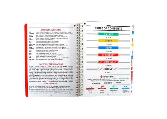 SAFETICS is the first navigation guide in the form of checklists, inspired by aviation. This English version contains most of the navigation rules from safety experts at sea. The universal and practical content has been developed for all skippers and crew members. Their waterproof and hard-wearing design make SAFETICS the ideal companion on board. Language: English (Image 5 of 6)