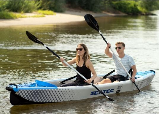 Discover nature in a new way with these high-quality, inflatable kayaks from SEATEC.