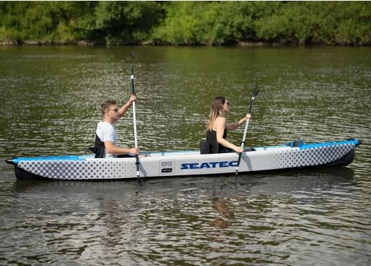 Discover nature in a new way with these high-quality, inflatable kayaks from SEATEC. (Image 2 of 12)