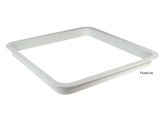 Passender Aluminium Innen-Einbaurahmen für die gebo FlushLine-Luke Gr.10.