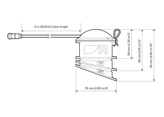 Der Inneneinbaugeber CPT-S CHIRP von Raymarine kann ohne eine einzelne Bohrung installiert werden und überzeugt mit einer präzisen Messung der Tiefe.Zusätzlich ermöglicht das innovative Design eine einfache Montage an unterschiedliche Rumpfwinkel (0 - 25 °). Geeignetes für Rumpfmaterial: GFK. (Bild 2 von 2)