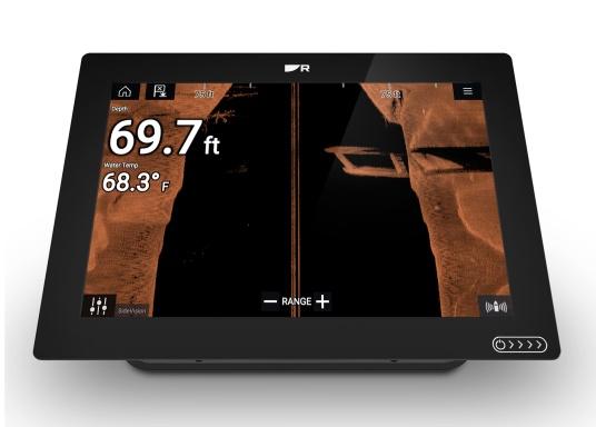Das Raymarine AXIOM+ verfügt über das neue und deutlich hellere HydroTough™ Display, mehr internen Speicher und einen schnelleren Quad-Core-Prozessor. Dank des neuen LightHouse Dartmouth nutzen Sie die Vorteile von Tag und Nacht Modi, sowie die Unterstützung von Raymarine LightHouse Charts. (Bild 6 von 19)