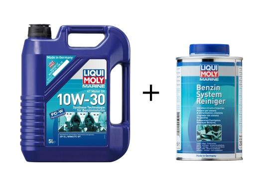 LIQUI MOLY Hochleistungsmotorenöl auf Basis Synthese Technologie mit speziellen Marine-Additiven für erhöhten Korrossionsschutz und bessere Schutzeigenschaften.