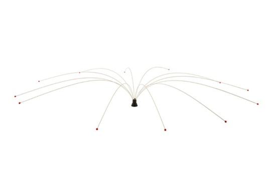 La protezione universale per gabbiani di SWI-TEC ha nove aste in poliestere e assicura che gli uccelli di tutti i tipi stiano lontani con movimenti leggeri e permanenti. (Immagine 5 di 6)