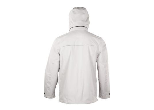 Die Jacke CRUISE von marinepool vereint sämtliches Know-How über funktionale Outdoor-Bekleidung mit sportlich-modernem Design. Das hochwertige und ultraleichte 3-Lagen-Material ist extrem atmungsaktiv, windabweisend und dank der hochwertigen HPU-Membran zu 100 % wasserdicht. (Bild 8 von 11)