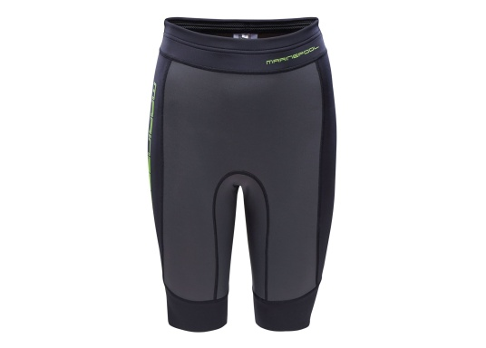 The PERU neoprene bermudas from Marinepool are suitable for all water sports activities. Perfect for rowing or on the SUP, these women's shorts protect and insulate body heat, while offering maximum freedom of movement and comfort.