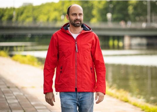 Die Herren-Crewjacke MIKO ist eine modische Jacke mit optimalem Wetterschutz, die sowohl wasserdicht als auch atmungsaktiv ist. (Bild 2 von 11)
