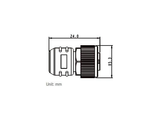 Endwiderstand für das NMEA2000 Netzwerk. Zum Abschluss an der Backbone-Leitung wird an jedem Ende ein Endwiderstand benötigt. (Bild 2 von 3)