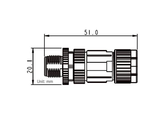 Passende NMEA2000 Stecker für das NMEA2000 Netzwerk. (Bild 3 von 6)