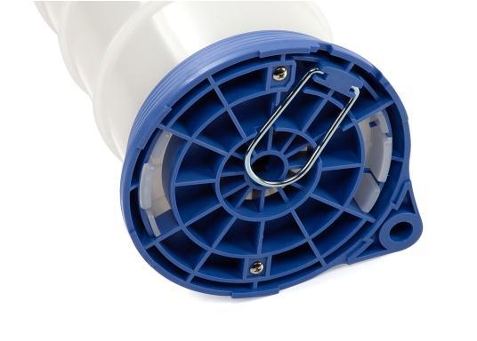 Universelle, einfach zu bedienende Absaugpumpe für Öle, Wasser und ähnliche Flüssigkeiten. Mithilfe von wenigen Hüben mit der Handpumpe wird ein Vakuum aufgebaut, das die Flüssigkeit in den Auffangbehälter saugt. Volumen: 4,0 Liter. (Bild 5 von 6)