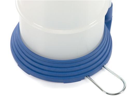 Universelle, einfach zu bedienende Absaugpumpe für Öle, Wasser und ähnliche Flüssigkeiten. Mithilfe von wenigen Hüben mit der Handpumpe wird ein Vakuum aufgebaut, das die Flüssigkeit in den Auffangbehälter saugt. Volumen: 4,0 Liter. (Bild 6 von 6)
