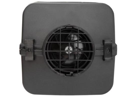 The 4D DELUXE URAL EDITION auxilliary diesel air heater from Autoterm Air is perfect for larger boats from 7.5 m. Adjusting power levels and temperature is child's play. Maximum heating output: 4.0 kW. Voltage: 12V. Supplied with new display. (Image 5 of 19)