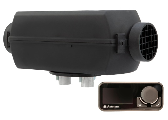 The 4D DELUXE URAL EDITION auxilliary diesel air heater from Autoterm Air is perfect for larger boats from 7.5 m. Adjusting power levels and temperature is child's play. Maximum heating output: 4.0 kW. Voltage: 12V. Supplied with new display.