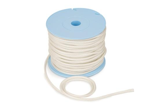 Extremely abrasion-resistant and durable motor starter cord, suitable for various outboard motors. Material: high-strength polyamide, impregnated. Length: 30 m. (Image 3 of 3)