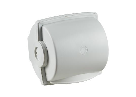 Ein innovativer, wasserdichter Toilettenpapierspender mit automatischer Papierzufuhr und Rückzugsfunktion. Dryroll sorgt für trockenes Papier und bietet eine ideale Lösung für die praktischen Dinge an Bord.