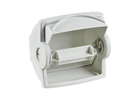 Ein innovativer, wasserdichter Toilettenpapierspender mit automatischer Papierzufuhr und Rückzugsfunktion. Dryroll sorgt für trockenes Papier und bietet eine ideale Lösung für die praktischen Dinge an Bord. (Bild 2 von 2)