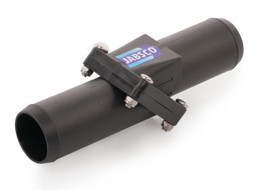 Cette valve anti-retour Jabsco est parfaite sur une installation avec un long raccord pour éviter que la pompe ne tourne à sec. Disponiblepour plusieurs diamètres de tuyau : 38, 25 et 19 mm  (Image 4 de 7)