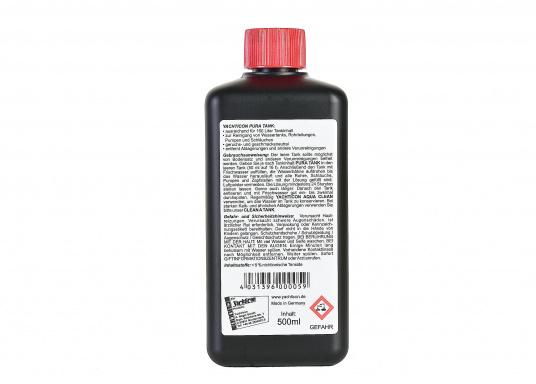 PUR A TANK, das ideale Reinigungs- und Desinfektionsmittel für Wassertanks. Es tötet Bakterien und Wasseralgen ab.  (Bild 2 von 2)