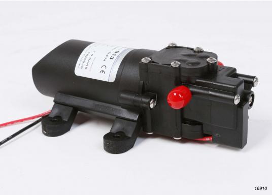 Hohe Lebensdauer! Leistungsfähige Druckwasserpumpe in Marineausführung mit Beschlägen und Metallteilen aus Edelstahl.  (Bild 4 von 6)