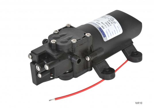 Hohe Lebensdauer! Leistungsfähige Druckwasserpumpe in Marineausführung mit Beschlägen und Metallteilen aus Edelstahl.