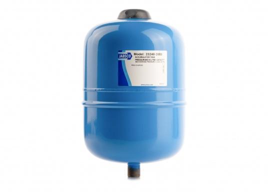 Dieser Metalldruckausgleichstank sorgt zuverlässig für eine gleichmäßige Wasserentnahme ohne pulsierende Druckschwankungen– so werden Wasserpumpe und Batteriekapazität geschont. Montage in beliebiger Position möglich.