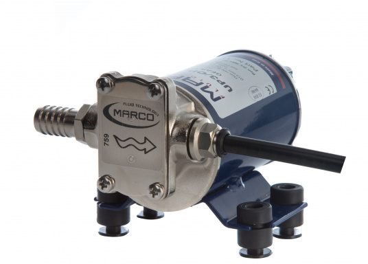 Selbstansaugende Zahnradpumpen zum leichten Ölwechsel, geeignet für Schiffe, Baumaschinen etc. Lieferbar in verschiedenen Ausführungen.