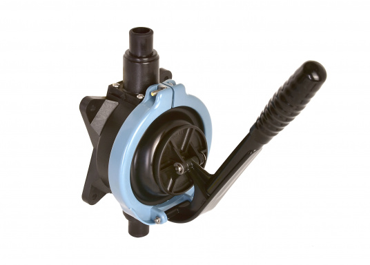 This bilge pump has all the qualities that are required for the equipment of small to medium sized boats. It offers easy operation, low weight and high operation power.