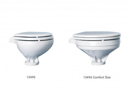 Comfortable operation, timeless design and innovative technology! This toilet is made of fine Chinese porcelain, seat and soft close lid are made of plastic.
