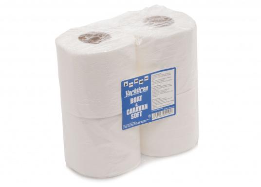Weiches WC-Papier speziell für Yacht-WC's. Besonders leicht löslich und verhindert ein Verstopfen des WC's.  (Bild 2 von 2)