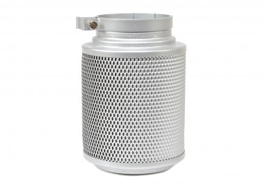 Nassluftfilter für die filterung der Ansaugluft von Maschinen und Geräten, die in leicht verunreinigter Luft eingesetzt werden, z.B. Stationärmotoren, Kompressoren und Schiffsdiesel. Erhältlich in verschiedenen Größen. (Bild 2 von 2)