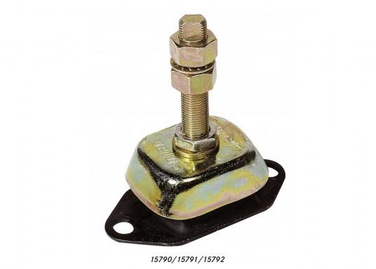 Sostegni motore per assorbire e smorzare le vibrazioni e rumori del motore. Tutti i supporti sono anche in grado di assorbire la spinta dell'elica. Disponibili in diverse versioni. (Immagine 2 di 7)