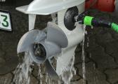 Außenborder-Flusher / rund