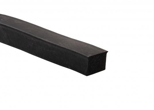 Witterungs- und alterungsbeständige Moosgummi-Dichtungen,lieferbar als Meterware. Erhältlich in unterschiedlichen Größen.  (Bild 5 von 8)