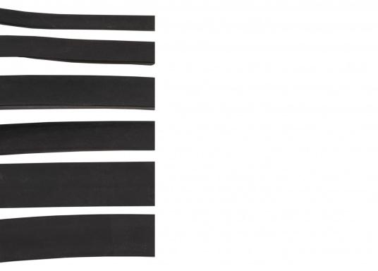 Witterungs- und alterungsbeständige Moosgummi-Dichtungen,lieferbar als Meterware. Erhältlich in unterschiedlichen Größen.  (Bild 2 von 8)