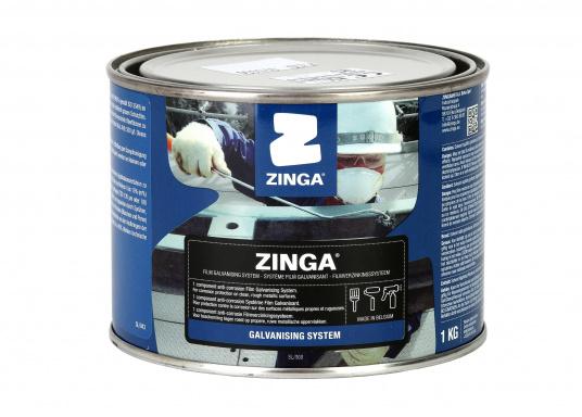 Zinga® on steel givesrustno chance!    active cathodic corrosion protection  no spalling  no cracking  no rust creepage