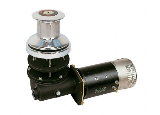 Capstan electric winches offer excellent assistance, especially inoffshore winds. They are suitable as mooring winches for mounting at the stern of boats with lengths of 8 - 36 m.  (Imagen 2 of 3)
