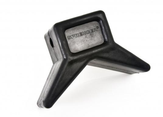 Schutz für Trailer und Boot - das bietet dieser Stopper und Stevenschutz aus Gummi. Erhältlich in 3 Größen.