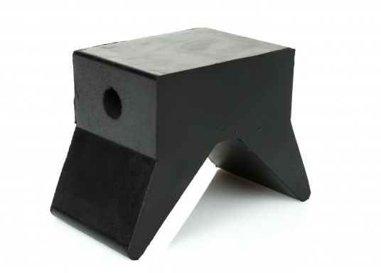 Schutz für Trailer und Boot - das bietet dieser Stopper und Stevenschutz aus Gummi. Erhältlich in 3 Größen.  (Bild 7 von 9)