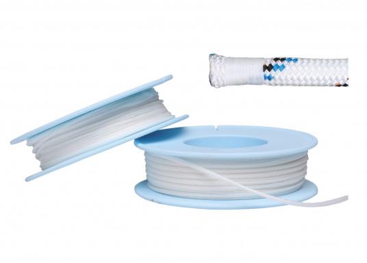 Für Ihre Takel-Ausrüstung! DiesesTakelgarn eignet sich zum Betakeln von Seilenden. Das Garn ist gewachst und wird aufeiner 30 m Spule geliefert. Erhältlich in unterschiedlichen Durchmessern.