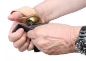 Segelmacher-Handschuh / rechts
