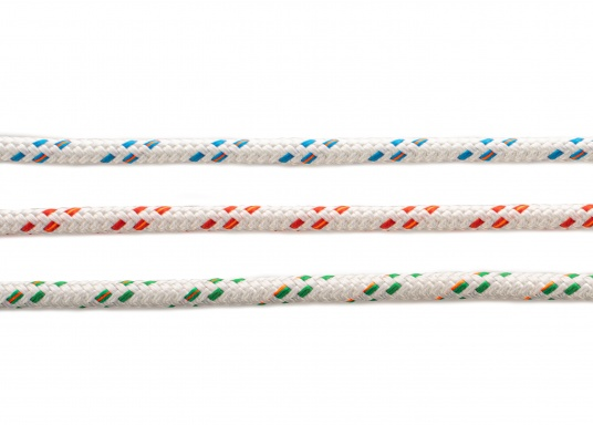 Maximum strength with minimum stretch! This universal rope has a strength and elongation comparable to a wire rope. It has anexcellent dimensional stability and excellent abrasion protection.  (Image 2 of 4)