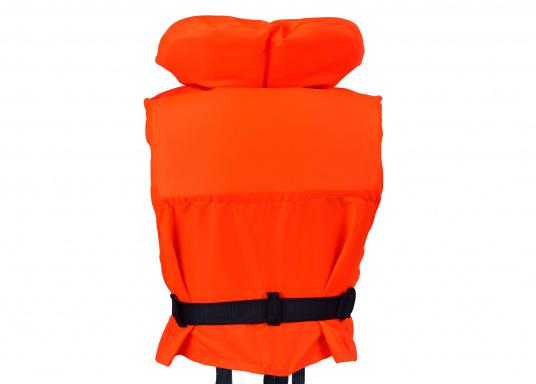 Gilet de sauvetage de qualité et confortable à porter. Fabriqué aux standards CE. Disponible en plusieurs tailles en fonction du poids de l'utilisateur. (Image 2 de 9)