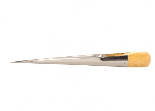 Ideales Werkzeug zum Spleißen.Dieser kräftige Marlspieker eignet sich zum Spleißen von geschlagenem ¾-schäftigem Tauwerk und Drahtseilen. (Bild 2 von 3)