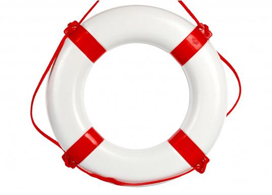 Bouée couronne blanche / rouge.  (Image 2 de 2)