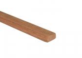 Profilo tondo in legno pregiato circa 2 m