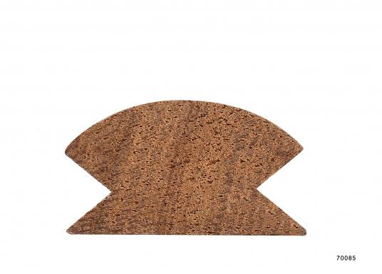 Sauber gefräste und geschliffene Eckprofile aus hochwertigem Teakholz. Länge ca. 2 m.